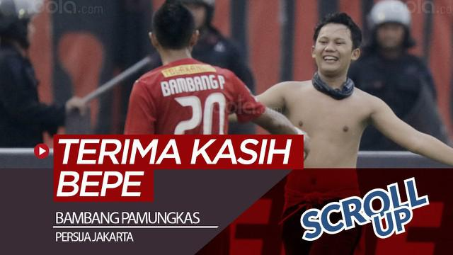 Berita video Scroll Up kali ini membahas beragam ucapan terima kasih dan perpisahan dilontarkan Jakmania di media sosial untuk striker Persija Jakarta yang dikabarkan akan gantung sepatu, Bambang Pamungkas.