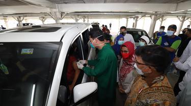 Sentra vaksinasi Indonesia Bangkit
