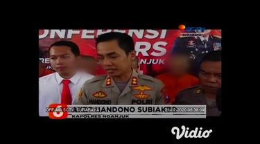 Polres Nganjuk, Jawa Timur membekuk komplotan begal yang melukai korban jika melawan, terdapat lima pelaku begal dan dua orang di antara pelaku begal masih berstatus pelajar.