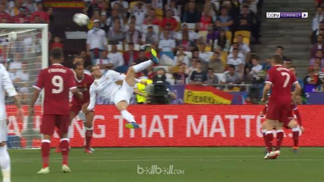 Real Madrid pastikan trofi Liga Champions ketiga secara beruntun dan ke-13 secara keseluruhan usai sukses mengalahkan Liverpool 3-...