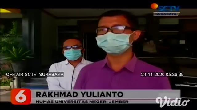 Universitas Jember atau UNEJ Jember, Jawa Timur, kembali kehilangan dosen dan tenaga kependidikannya, lantaran terpapar Covid-19. Satu orang dosen dan dua tenaga kependidikan di UNEJ meninggal dunia.