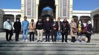 Delegasi Indonesia yang diketuai Wakil Ketua Badan Kerja Sama Antar Parlemen DPR (BKSAP DPR RI) Mardani Ali Sera, berkunjung ke negara Uzbekistan dan mengunjungi Samarkand. Dok: Kedubes Uzbekistan di Jakarta