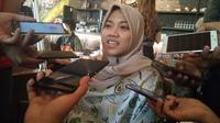 Nina Gusmita, atlet voli duduk Indonesia. (Liputan6.com/Cakrayuri)