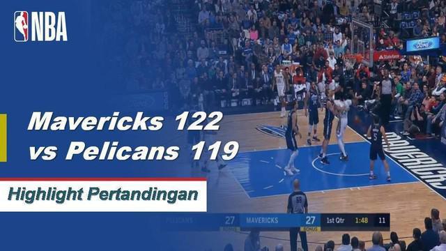 Luka dan DeAndre sama-sama menghitung 20 poin ganda-ganda dalam kemenangan melawan Pelikan 122-119