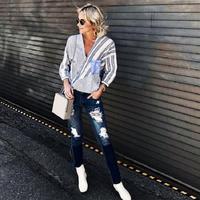 Sontek penampilan keren para fashion blogger dengan celana jeans robek yang trendi. (Foto: @looseunicorns)