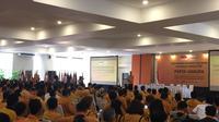 Munaslub Partai Hanura di Kantor DPP Hanura, Bambu Apus, Jakarta Timur. (Liputan6.com/M. Radityo P)