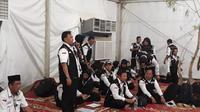 Petugas Panitia Penyelenggara Ibadah Haji (PPIH) telah bergerak ke Arafah. Dok Daker Bandara