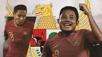 Gelandang Timnas Indonesia: Evan Dimas. (Bola.com/Dody Iryawan)