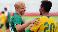 Rekrutan baru Persebaya, Diogo Campos. (Bola.com/Aditya Wany)