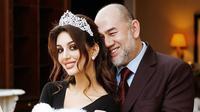 Oksana Voevodina, istri mantan Raja Malaysia, Sultan Muhammad V. (Instagram RihanaPetra)