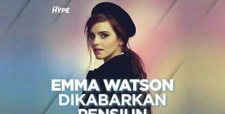 Emma Watson dikabarkan pensiun dari dunia akting. Bagaimana informasi selengkapnya? Yuk, kita cek video di atas!