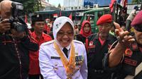 Tri Rismaharini dilantik menjadi Wali Kota Surabaya (Liputan6.com/ Dian Kurniawan)