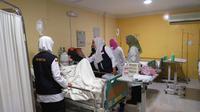 Jemaah haji sakit di Madinah (Liputan6.com/ Muhammad Ali)