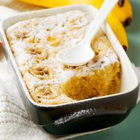 ilustrasi puding roti pisang/copyright Shutterstock