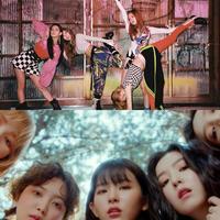 Kedua girl group dari agensi yang berbeda ini tawarkan deretan outfit yang super cool. (Sumber foto: blackpinkofficial/instagram, Pinterest)