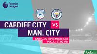 Premier League 2018-2019 Cardiff City Vs Manchester City (Bola.com/Adreanus Titus)