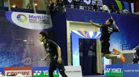 M. Ahsan/Berry Angriawan, lolos ke babak kedua turnamen Prancis Terbuka Super Series 2016. (PBSI)