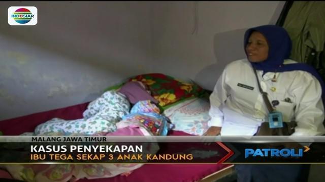 Diduga alami gangguan jiwa, ibu di Malang, Jawa Timur, hampir setahun menyekap tiga anak kandungnya di dalam ruangan gelap.