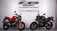 All new Honda CB150R Streetfire. (AHM)