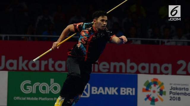 Cabang wushu kembali mempersembahkan medali untuk kontingen Indonesia di Asian Games 2018. Kali ini, perunggu dipersembahkan oleh Ahmad Hulaefi di Jiexpo, Kemayoran.