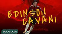 Manchester United - Edinson Cavani (Bola.com/Adreanus Titus)