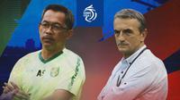 BRI Liga 1 - Duel Pelatih - Persebaya Surabaya Vs PSM Makassar (Bola.com/Adreanus Titus)
