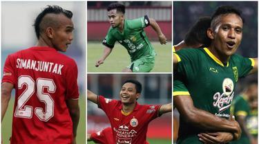 Berikut ini para pemain yang mempunyai kecepatan serta lincah di lapangan. Dua diantaranya adalah Riko SImanjuntak dan Irfan Jaya.