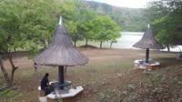 Kolam susuk yang menjadi sumber kebutuhan warga perbatasan. Foto: (Ola Keda/Liputan6.com)