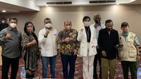 Promotor Wanita Milasari Kusumo Anggraini (blazer putih) Terpilih Jadi Ketua Tinju Profesional Indonesia (Ist)