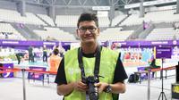 Fotografer disabilitas yang berkiprah di Asian Para Games 2018, Cristianto Harsadi. (Asian Para Games 2018)