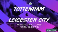 Premier League - Tottenham Hotspur Vs Leicester City (Bola.com/Adreanus Titus)