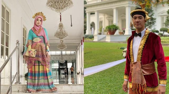 Gaya 6 Seleb Hadiri Upacara Kemerdekaan di Istana Merdeka, Memukau dengan Baju Adat