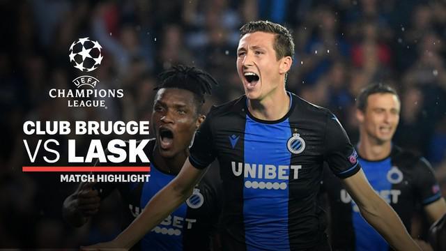Berita video highlights leg II playoffs Liga Champions 2019-2020 antara Club Brugge melawan LASK Linz yang berakhir dengan skor 2-1, Rabu (28/8/2019).