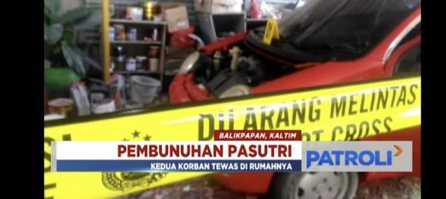 Polres Balikpapan tangkap tiga pelaku pembunuhan sadis yang menewaskan pasangan suami istri.