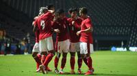 Timnas Indonesia menang 2-1 atas Taiwan pada leg pertama play off kualifikasi Piala Asia 2023 di Stadion Chang Arena Buriram, Thailand, Kamis (7/10/2021) malam. (foto: PSSI)