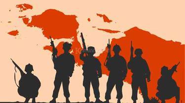 KKB Papua Kembalikan 4 Senjata Api Milik TNI