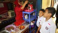 Salah satu kantin yang berpartisipasi dalam Warung Anak Sehat. (dok. Danone Indonesia)