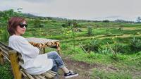 Najwa Shihab saat berkunjung ke Desa Pariangan, Sumatera Barat (Dok. Instagam/@najwashihab/https://www.instagram.com/p/BqE6vkch_zq/Komarudin)