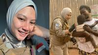6 Pesona Briptu Hikma Nur Syafa, Polwan Cantik yang Kini Bertugas di Afrika (sumber: Instagram.com/hikmanursyaa)