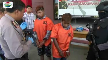 Dua tersangka pembunuhan remaja yang jasadnya ditemukan di kolong Jembatan Probolinggo akhirnya dibekuk polisi.