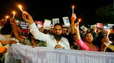 Gadis 8 Tahun Diperkosa dan Dibunuh, Warga India Gelar Protes