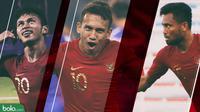 Trivia Trisula Timnas Indonesia U-22 (Bola.com/Adreanus Titus)