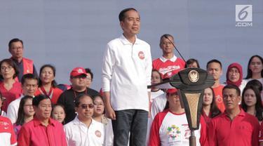 Menyambut Asian Games dan Hari Kemerdekaan Indonesia, pemerintah menyelenggarakan acara Harmoni Indonesia 2018.