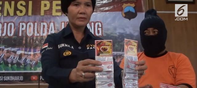 Satuan Reserse, Satres, Narkoba Polres Sukoharjo, Jawa Tengah, berhasil membekuk pelaku pembuat dan pengedar obat palsu.