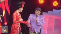 Penampilan Didi Kempot saat Indonesian Dangdut  Award  2016  di Studio 6 Emtek, Jakarta, Rabu (9/11). IDA  2016 merupakan ajang pemberian penghargaan kepada mereka yang  berjasa dalam dunia musik  dangdut Indonesia. (Liputan6.com/Helmi Afandi)