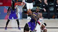 LeBron James Menggila, Lakers Rebut Gim Ketiga Lawan Blazers (AP)