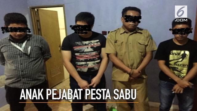 Direktorat Narkoba Polda Sulawesi Selatan menangkap anak Wakil Bupati Maros yang tengah berpesta sabu.
