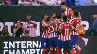 Atletico Madrid gasak Real Madrid 7-3 di pramusim ICC 2019 (AFP)
