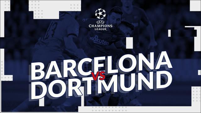 Berita video statistik Barcelona vs Borussia Dortmund pada matchday ke-5 fase grup Liga Champions 2019, Kamis (28/11/2019) di Camp Nou, Barcelona.