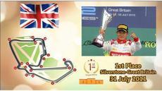 Ini adalah 4 sirkuit di mana Rio Haryanto berhasil menjadi juara di GP2 dan GP3 Series. Sirkuit tersebut dipakai juga untuk Formula 1 musim 2016.